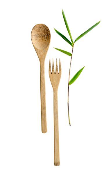 Bambus Besteck-2-teilig- Set 22cm