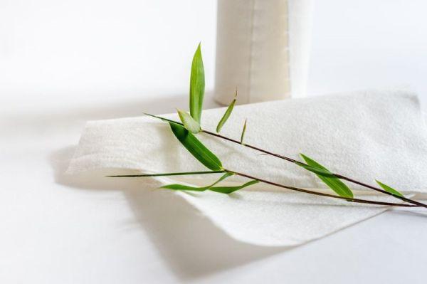 Bambus-Küchenrollen, waschbar