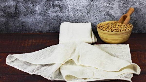 Tofu-Tuch, Abseihtuch, 100%Baumwolle,Lebensmittelecht