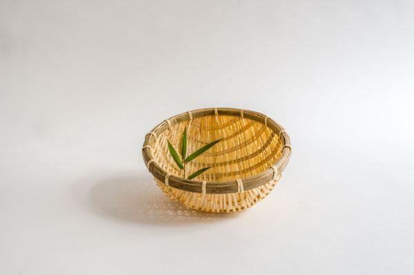 Bambuskorb, Bambussieb, Reiskörbe, 20 cm