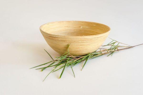Bambus Salatschüssel