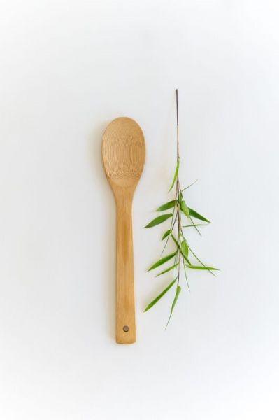 Bambus Küchenhelfer Salatlöffel