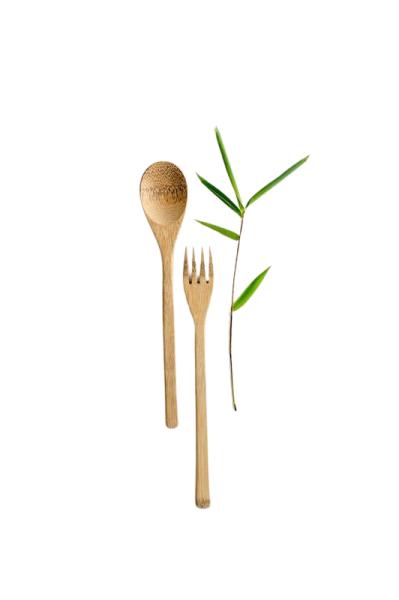 Bambus Essbesteck 2 teilig 22cm