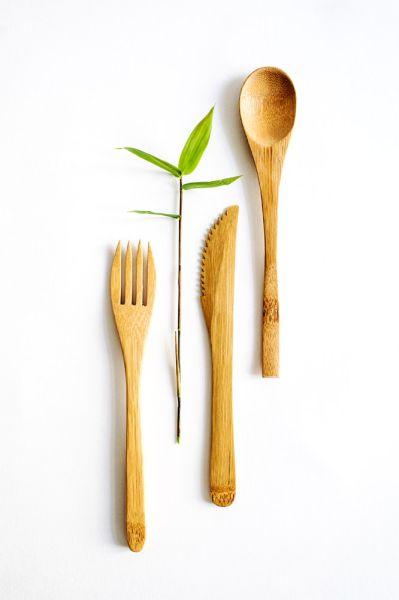 Bambus-Besteck