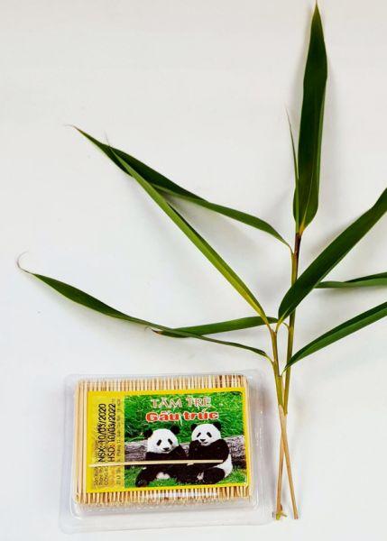 Bambus Zahnstocher extra dünn
