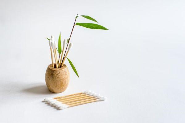 Bambus Wattestäbchen 100 Stück