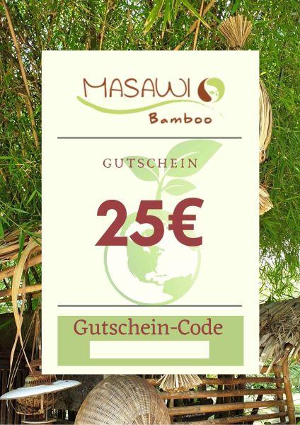 Geschenk-Gutscheine Masawi-Bamboo