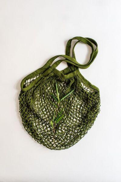 Einkaufsnetz, Gemüse-Obst-Netz aus 100% Baumwolle
